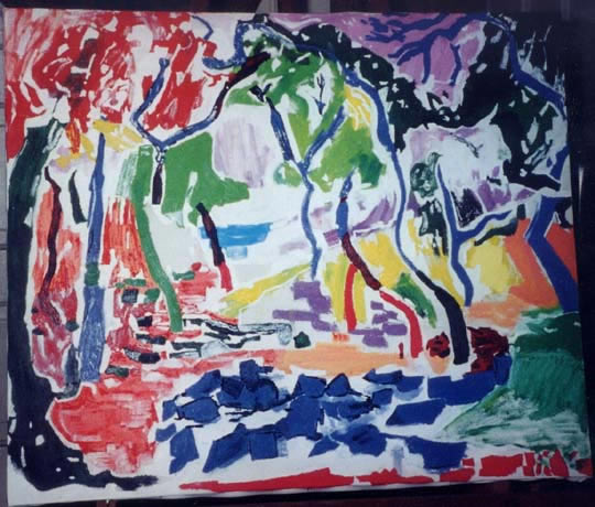 Matisse's Landscape at Collioure