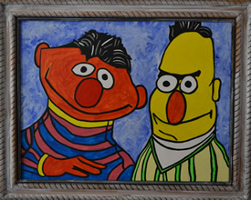 Bert and Ernie's Apartment Portrait